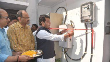 उत्तर प्रदेश: सरकारी बंगलों में प्रीपेड मीटर लगाने का काम ऊर्जा मंत्री श्रीकांत शर्मा के घर से शुरू, किया उद्घाटन
