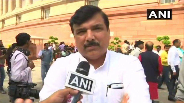 आम आदमी पार्टी के वरिष्ठ नेता संजय सिंह का बड़ा बयान, कहा- दिल्ली विधानसभा चुनावों में कांग्रेस को प्रतिद्वंद्वी नहीं समझा जा सकता