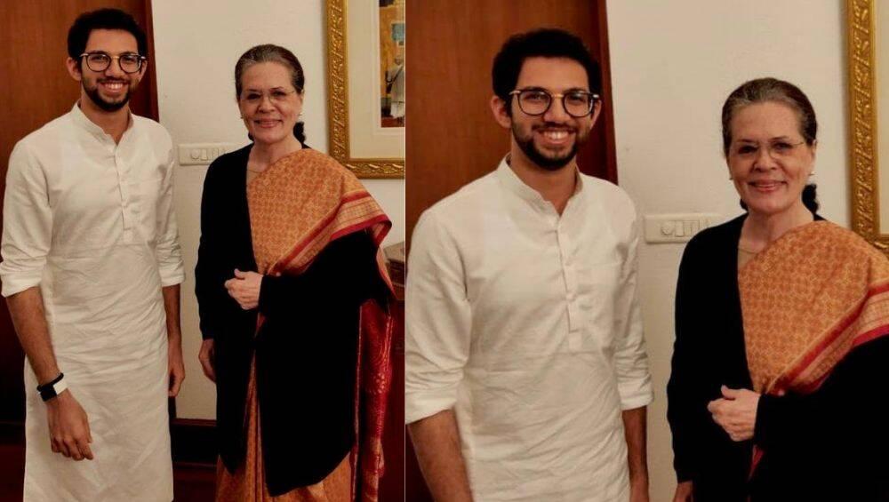 उद्धव ठाकरे के शपथ ग्रहण समारोह के लिए बेटेआदित्य ने सोनिया गांधी को दियान्योता,बोले-मैं सबकी शुभकामनाएं लेने आया हूं