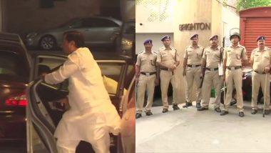 महाराष्ट्र: डिप्टी सीएम अजित पवार की एनसीपी विधायकों के साथ भाई श्रीनिवास पवार के घर बैठक, आवास के बाहर कड़ी सुरक्षा व्यवस्था