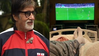 अस्पताल में अमिताभ बच्चन की ये फोटो देखकर मायूस हुए फैंस, कहा- गेट वेल सून