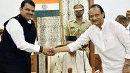 महाराष्ट्र: सरकार गिर गई, 'दोस्ती' अब भी बरकरार, अजित पवार और देवेंद्र फडणवीस पहली बार सोलापुर में मिले