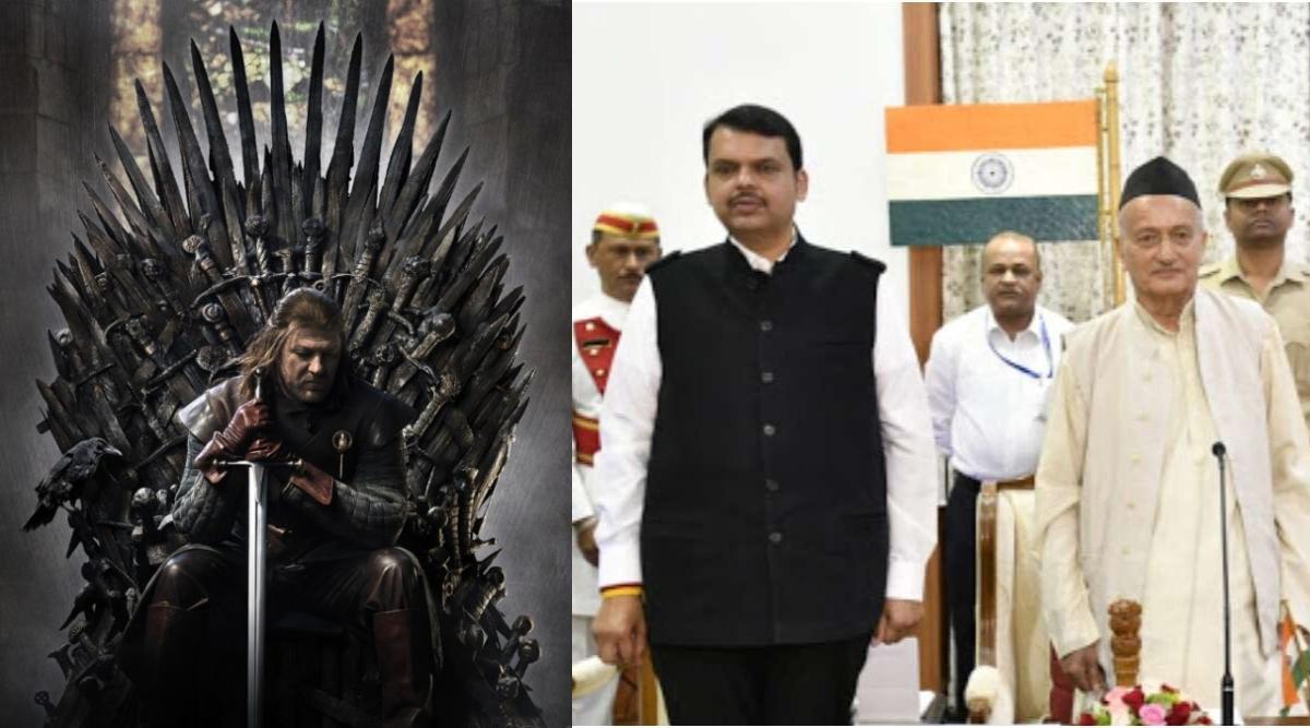 महाराष्ट्र की राजनीति में बड़ा उलटफेर देख ट्विटर पर लोगों ने कहा- ये तो गेम ऑफ थ्रोंस से भी बढ़कर