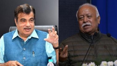 महाराष्ट्र: केंद्रीय परिवहन मंत्री नितिन गडकरी और आरएसएस प्रमुख मोहन भागवत करेंगे मुलाकात