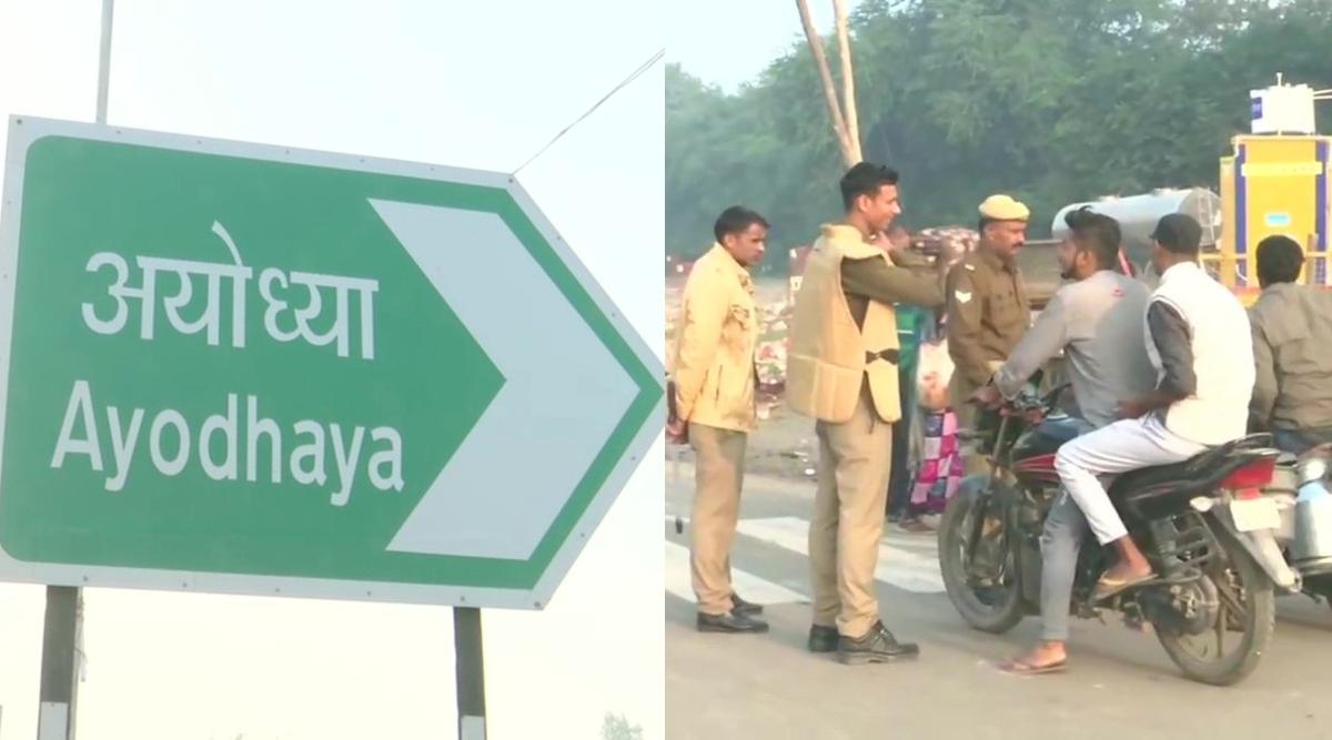 उत्तर प्रदेश: सुप्रीम कोर्ट के फैसले के मद्देनजर अयोध्या में सुरक्षा के कड़े इंतजाम, प्रशासन ने की हाई अलर्ट की घोषणा