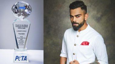 पेटा इंडिया ने 'पर्सन ऑफ द इयर 2019' के लिए भारतीय क्रिकेट टीम के कप्तान विराट कोहली को किया नॉमिनेट