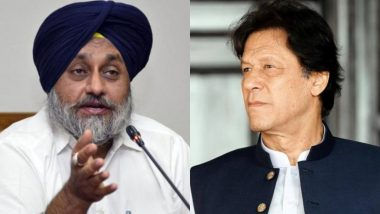 सुखबीर सिंह बादल ने पाक पीएम इमरान खान से कहा- करतारपुर गलियारा तीर्थ के लिए है, इसे आय का साधन न बनाएं