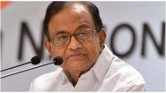 कानपुर एनकाउंटर: कांग्रेस के वरिष्ठ नेता पी चिदंबरम ने कहा, यूपी पुलिस रात के वक्त क्यों गई थी अपराधी के गढ़ में ?
