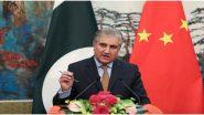अमेरिकी प्रतिनिधि जलमय खलीलजाद ने अफगान शांति प्रक्रिया पर पाकिस्तानी विदेश मंत्री शाह महमूद कुरैशी संग की वार्ता