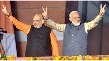 PM Narendra Modi 70th Birthday: केंद्रीय गृह मंत्री अमित शाह ने PM नरेंद्र मोदी को दी जन्मदिन की बधाई, कहा- मजबूत भारत बनाने वाले महान नेता