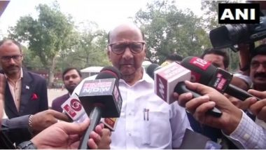 शरद पवार की गूगली: सोनिया गांधी से मिलने से पहले NCP सुप्रीमो का बड़ा बयान, कहा- बीजेपी और शिवसेना अपना रास्ता तय करें