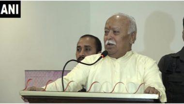 महाराष्ट्र सत्ता संघर्ष: बीजेपी- शिवसेना के झगड़े पर संघ प्रमुख मोहन भागवत बोले- आपस में लड़ने से दोनों का होगा नुकसान