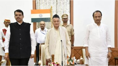 महाराष्ट्र में राष्ट्रपति शासन खत्म, देवेंद्र फडणवीस मुख्यमंत्री तो अजित पवार बने डिप्टी सीएम