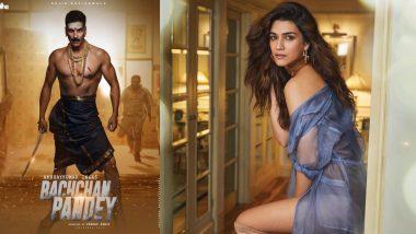 फिल्म 'बच्चन पांडे' में अक्षय कुमार के साथ नजर आएंगी कृति सेनन, नाडियाडवाला ग्रैंडसन ने ट्वीटर पर शेयर की जानकारी