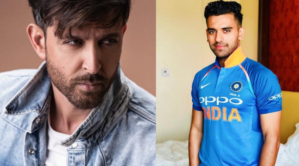 ऋतिक रोशन भारतीय क्रिकेटर दीपक चहर के हैं पसंदीदा हीरो, बताई यह वजह