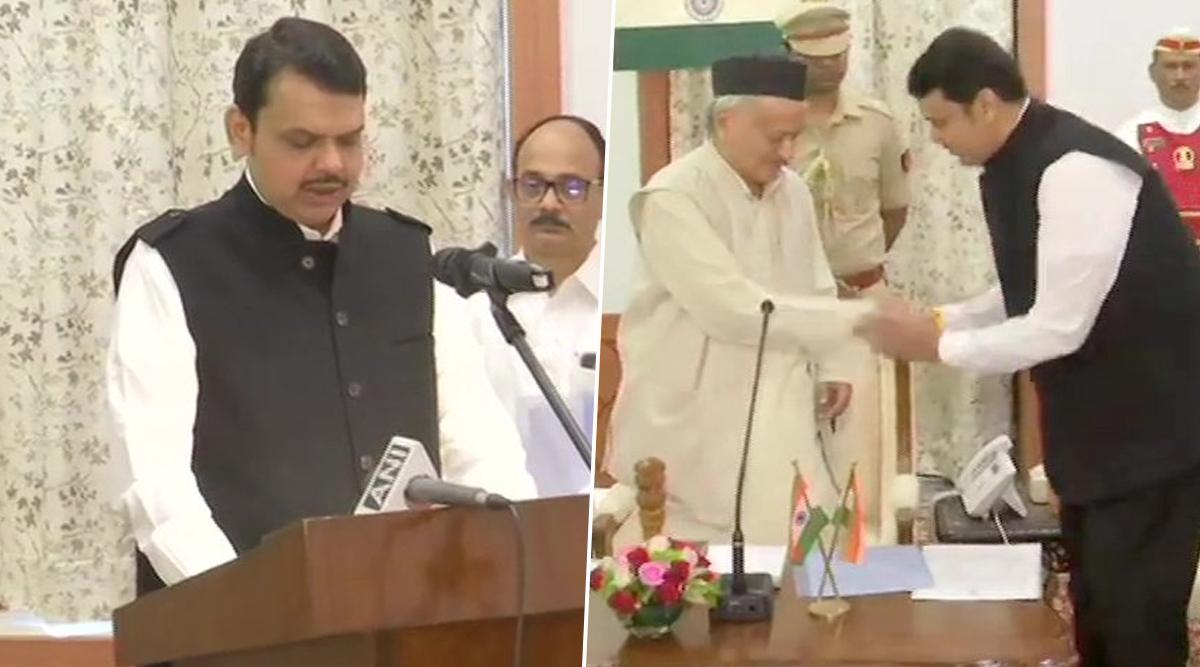Image result for फडणवीस फिर बने मुख्यमंत्री, अजित पवार डिप्टी सीएम