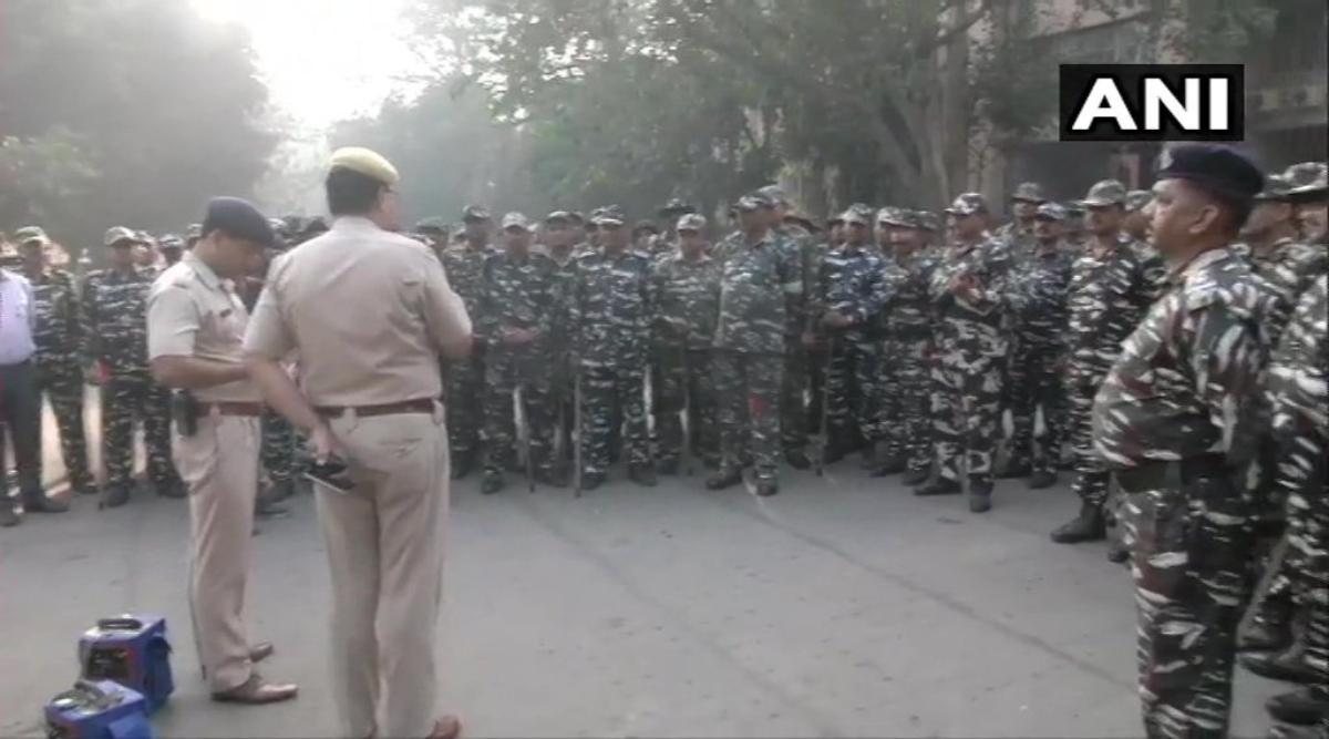 अयोध्या मामला: उत्तर प्रदेश में धार्मिक स्थलों की बढ़ाई गई सुरक्षा-व्यवस्था, धारा 144 लागू