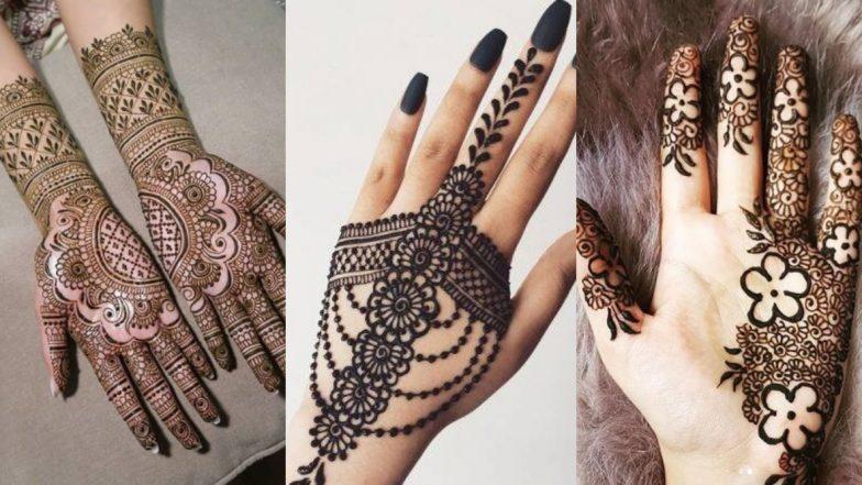 Eid-e-Milad un Nabi 2019 Mehndi Designs: ईद के मुबारक मौके पर मेहंदी के इन खूबसूरत डिजाइन्स से बढ़ाएं हाथों की सुंदरता, देखें तस्वीरें और वीडियो