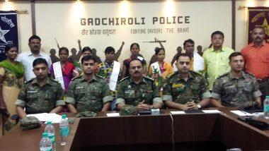 महाराष्ट्र: गढ़चिरौली में पांच महिलाओं समेत छह नक्सलियों ने किया आत्मसमर्पण, 31 लाख रुपये का था इनाम