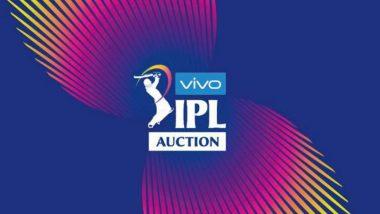 IPL 2020: आईपीएल 13 के लिए खिलाड़ियों की नीलामी 19 दिसंबर को कोलकाता में होगी