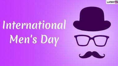 International Men's Day 2019 Wishes: सोशल मीडिया पर GIF Greetings, Messages, Quotes और Images के जरिए लोग दे रहे हैं अंतर्राष्ट्रीय पुरुष दिवस की शुभकामनाएं, आप भी देखें