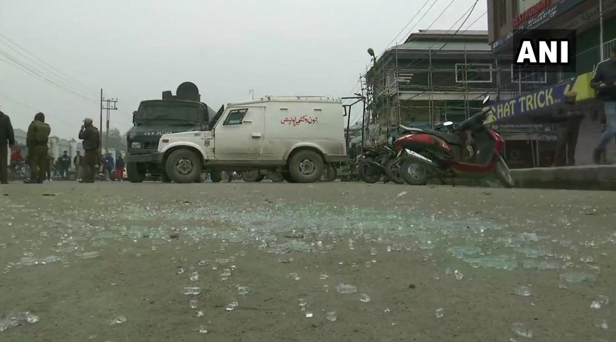 जम्मू-कश्मीर: श्रीनगर यूनिवर्सिटी के बाहर धमाका, 2 घायल