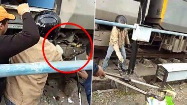 उत्तराखंड: सुपर-फास्ट ट्रेन से निकाला गया 10 फुट लंबा किंग कोबरा, देखें वायरल वीडियो
