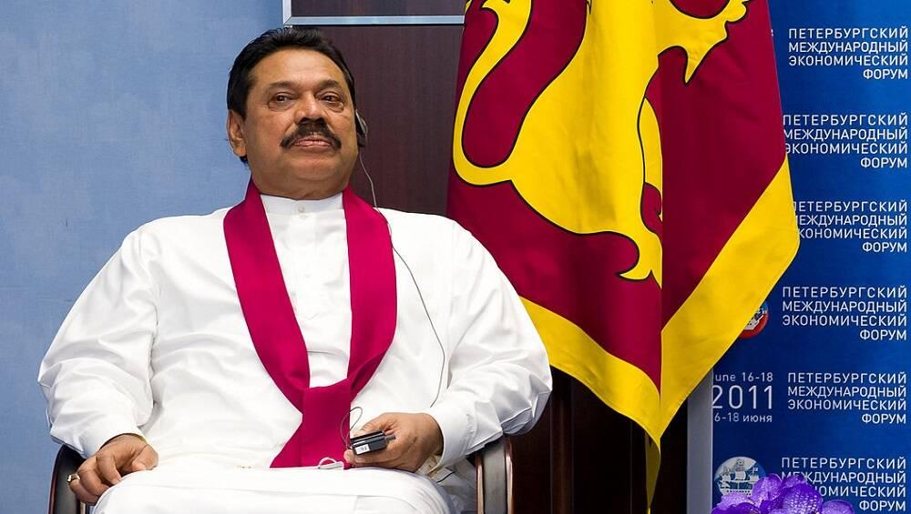 श्रीलंका के प्रधानमंत्री महिंदा राजपक्षे ने बिहार के बोधगया के महाबोधि मंदिर में पूजा-अर्चना की