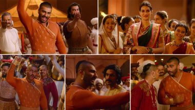 जीत के जश्न को दिखाता अर्जुन कपूर की फिल्म पानीपत का नया गाना 'मन में शिवा' हुआ रिलीज