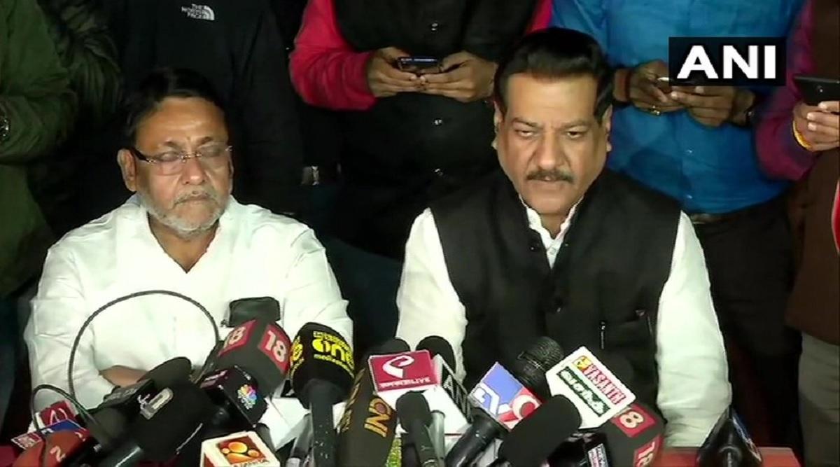 महाराष्ट्र सत्ता संघर्ष: कांग्रेस-NCP नेताओं की बैठक खत्म, पृथ्वीराज चव्हाण बोले-राज्य में जल्द बनेगी सरकार