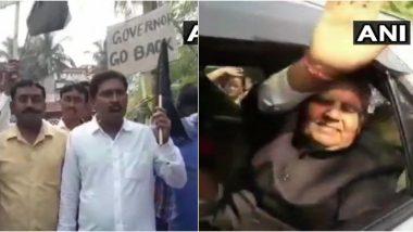सीएम ममता बनर्जी- राज्यपाल जगदीप धनखड़ के बीच नाराजगी, TMC के कार्यकर्ताओं ने दिखाए काले झंडे