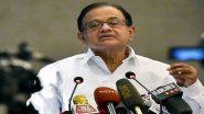 झारखंड विधानसभा चुनाव 2019: पूर्व गृहमंत्री चिदंबरम शुक्रवार को रांची में संवाददाता सम्मेलन करेंगे