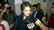 गांधी परिवार की एसपीजी सुरक्षा हटाए जानें के बाद प्रियंका गांधी ने पहली बार तोड़ी चुप्पी, कहा- यह राजनीति का हिस्सा