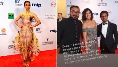 International Emmy Awards 2019: राधिका आप्टे-कुबरा सैत समेत 'सेक्रेड गेम्स' की टीम ने रेड कारपेट पर बिखेरा जलवा, देखें फोटोज