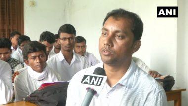 पश्चिम बंगाल: रामकृष्ण मिशन विद्यामंदिर में संस्कृत पढ़ाने वाले प्रोफेसर रमजान अली ने कहा- यह भाषा दर्शाती है भारत की संस्कृति, BHU की घटना को बताया अपवाद