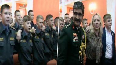 रूसी कैडेट्स ने गाया भारतीय गाना 'ऐ वतन, ऐ वतन हमको तेरी कसम', सोशल मीडिया पर वीडियो वायरल