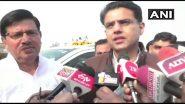 Rajasthan Political Crisis: जयपुर लौटे सचिन पायलट, कहा- पार्टी से कोई मांग नहीं रखी, काम करता रहूंगा