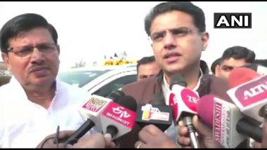 अयोध्या में भव्य राम मंदिर चाहती है कांग्रेस पार्टी, बंद होनी चाहिए राजनीति: सचिन पायलट