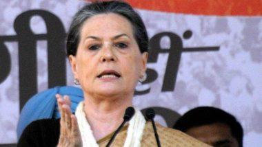 फ्लोर टेस्ट को लेकर सोनिया गांधी ने जताया भरोषा, कहा- महाराष्ट्र विधानसभा में कांग्रेस-एनसीपी और शिवसेना की होगी जीत