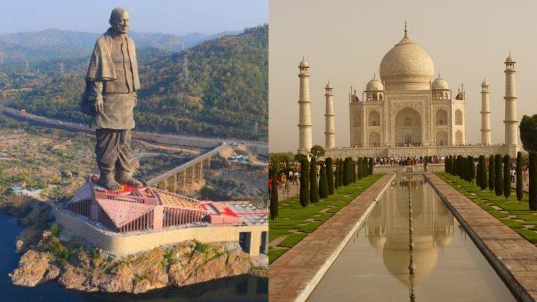 स्टैच्यू ऑफ यूनिटी बना भारत का सबसे ज्यादा कमाई वाला स्मारक, दुनिया के सात अजूबों में शुमार ताजमहल को छोड़ा पीछे