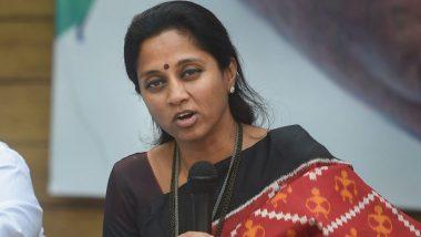 एनसीपी सांसद सुप्रिया सुले ने 'बाला साहेब ठाकरे और उनकी पत्नी मीनाताई' को किया याद