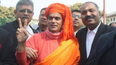 जय श्री राम कहें और जेएनयू में सस्ती फीस लें: स्वामी चक्रपाणि
