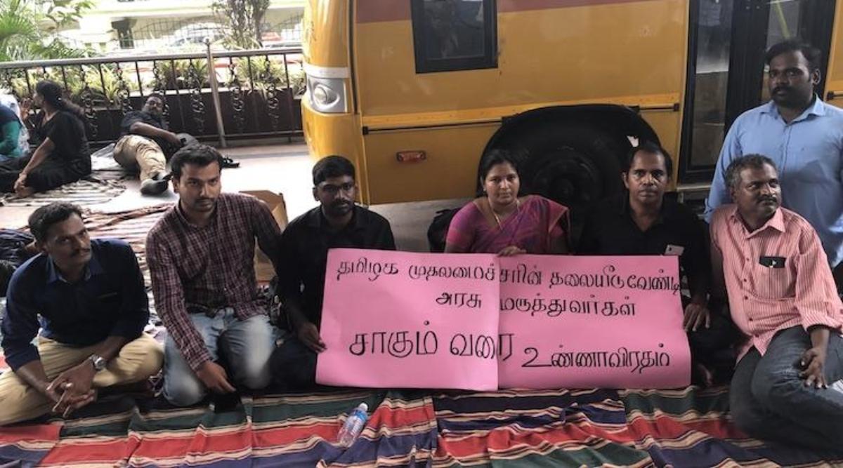 तमिलनाडु के डॉक्टरों ने अस्थायी रूप से अपनी अनिश्चितकालीन हड़ताल को वापस लिया
