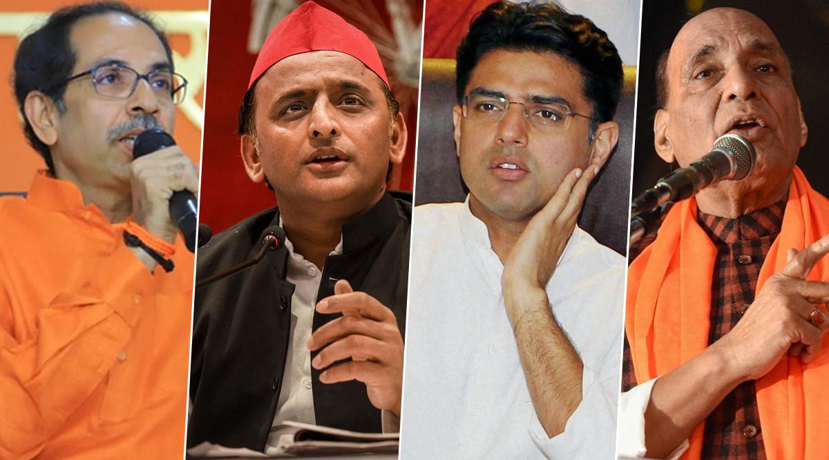 उद्धव ठाकरे बने महाराष्ट्र के मुख्यमंत्री: राजनाथसिंह, सचिन पायलट, अखिलेश यादव सहित इन नेताओं ने दी बधाई