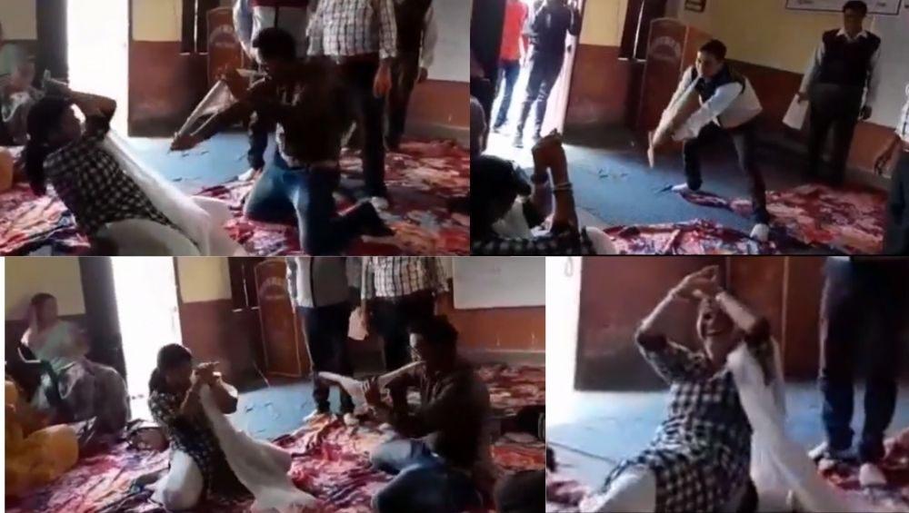 राजस्थान: जालोर में ट्रेनिंग के दौरान शिक्षक करने लगे 'नागिन डांस', देखें वायरल वीडियो