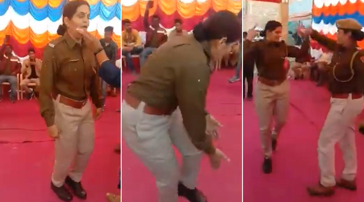 राजस्थान: वर्दी में महिला पुलिसकर्मी ने सपना चौधरी के गाने पर जमकर लगाए ठुमके, सोशल मीडिया पर डांस का वीडियो हुआ वायरल