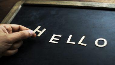 World Hello Day 2019: विश्व हैलो दिवस क्यों मनाया जाता है, जानिए इसका इतिहास और महत्व