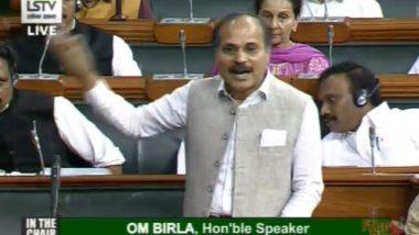 हंगामे के साथ शुरू हुआ संसद का शीतकालीन सत्र, कांग्रेस सासंद अधीर रंजन चौधरी ने उठाया गांधी परिवार की एसपीजी सुरक्षा हटाए जाने का मुद्दा