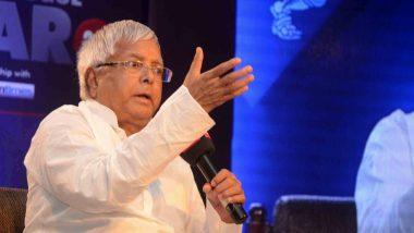 महान गणितज्ञ वशिष्ठ नारायण सिंह के आड़ में आरजेडी अध्यक्ष लालू प्रसाद ने बिहार सरकार पर साधा निशाना
