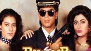 शाहरुख खान और काजोल की फिल्म बाजीगर ने 26 साल किए पूरे, एक्ट्रेस ने शेयर किया खास वीडियो